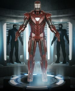 Mark XXXIII Silver Centurion (Homem de Ferro 3 - 2013)